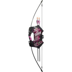 Barnett Youth lil' Sioux Black/Pink Recurve Bow