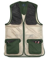 Beretta Ambidextrous Green/ Black Forest Shooting Vest Small Only