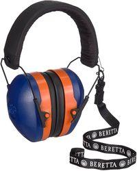 Beretta GridShell Earmuff Blue & Orange