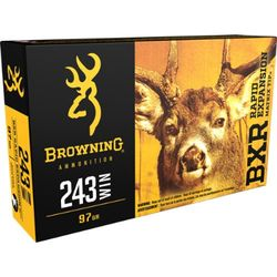 Browning BXR .243Win 97Grain REMT Pkt 20