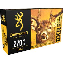 Browning BXR .270Win 134Grain REMT Pkt 20