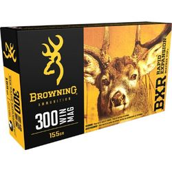 Browning BXR .300WinMag 155Grain REMT Pkt 20