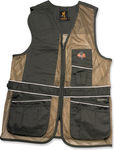 Browning R/H Deluxe Charcoal/Brown Shooting Jacket