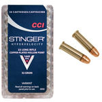 CCI 22LR Stinger 32GN Hollow Points Pkt 50