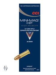 CCI 22LR Mini-Mag 36Grain Hollow Points Brick 500