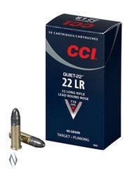 CCI 22LR Quiet 40Grain Lead Round Nose Brick 500