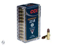 CCI 22LR Copper  21Grain Hollow Point 50 Pkt
