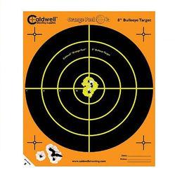 """Caldwell Orange Peel 8""""Bullseye Target 10 Pack"""