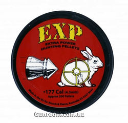 EXP Extra Power Hunting .177Cal Air Rifle Pellets Qty 500