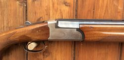 Fausti Elegant 12Gauge Under + Over Shotgun