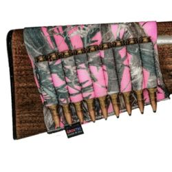 Grovtec Buttstock Rifle Shell Holder TrueTimber Pink Camo