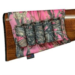 Grovtec Buttstock Shotgun Shell Holder TrueTimber Pink Camo