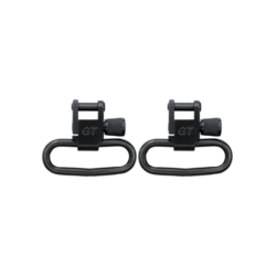 "Grovtec Locking Swivel Black Oxide Finish - 1.25"" Loops Pair"