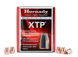 Hornady 45Cal (.451) 185Gn XTP 100 Pack Projectiles