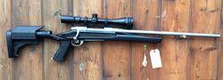 Howa 1500 .270Win Stainless Scoped Rifle