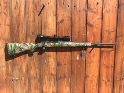 Howa 1500 30 06 Sprg Camo Blued Rifle Fluted