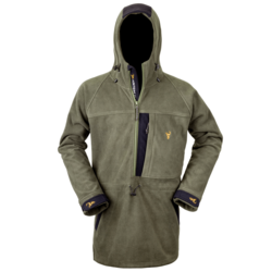 Hunters Element Bushman Half Zip Forest Green