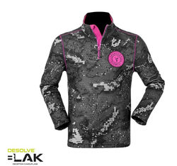 Hunters Element Kids Mountain Top Desolve Blak & Pink