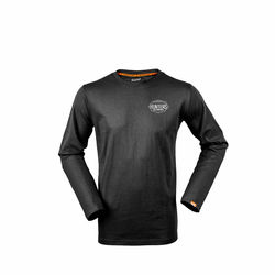 Hunters Element Onyx Long Sleeve Tee Black