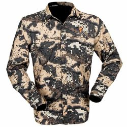 Hunters Element Superlite Womens Shirt Desolve Bare