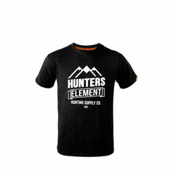Hunters Element Vista Tee Black