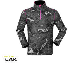 Hunters Element Womens Alpi Top Desolve BLAK (Size 14 Only)