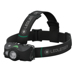 LED LENSER MH8 Outdoor Series Black Head Lamp