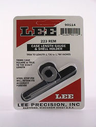 LEE 223Rem Case Length Gauge & Shell Holder