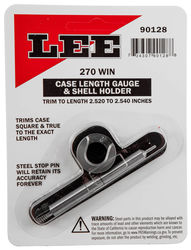LEE 270Win Case Length Gauge & Shell Holder