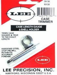 LEE 30-30Win Case Length Gauge & Shell Holder