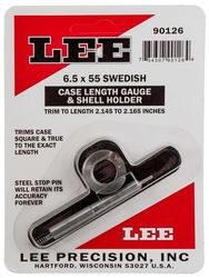 LEE 6.5x55 Swedish Case Length Gauge & Shell Holder