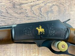 Marlin 336C Gold Inlay 30 30Win Lever Action Rifle