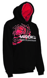 Miroku Clay Black/ Red Hoodie