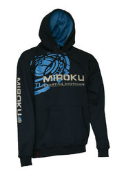 Miroku Clay Navy/Blue Hoodie 1 Small Only