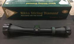 Nikko Stirling Diamond 1.5-6x42 Plex Reticle