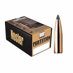 Nosler 22Cal (.224) 60Gn Partition 50 Pack Projectiles