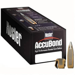Nosler 30Cal (.308) 165Gn AccuBond 50 Pack Projectiles