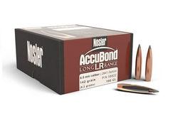 Nosler 6.5mm (.264) 6.5mm 129Gn AccuBond LR 100 Pack Projectiles