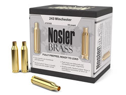 Nosler Custom .243Win Unprimed Brass Qty 50