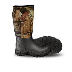 Otway Bushranger HI Men's Camo Rubber Boots