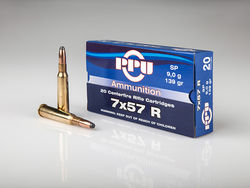 PPU 7x57Rimmed 173Grain Soft Point 20 Rounds