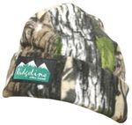 Ridgeline Double Layer Fleece Beanie Buffalo Camo