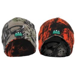 Ridgeline Double Layer Reversible Beanie Buffalo/ Blaze Camo