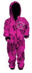 Ridgeline Kids Hyper Pink Camo Onesie