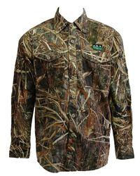 Ridgeline Territory-II Long Sleeve Shirt Grassland Camo