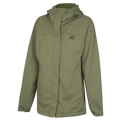 Ridgeline Womens Ascent Softshell Jacket - Field Olive