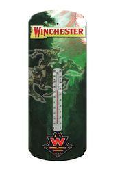 River Edge Nostalgic Tin Thermometer - Winchester Rider