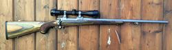 Ruger M77 Hawkeye .22-250Rem Scoped Rifle