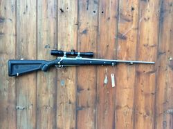 Ruger M77 MKII 243Win Synthetic  Stainless Rifle