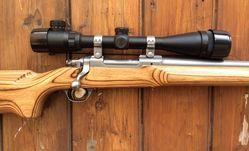 Ruger M77 Mark II 204Rug Scoped Bolt Action Rifle